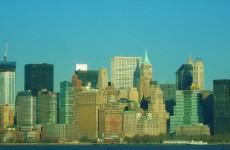Вид на Манхэттен с парома.