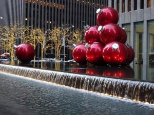 Новогодний Манхэттен, Нью-Йорк